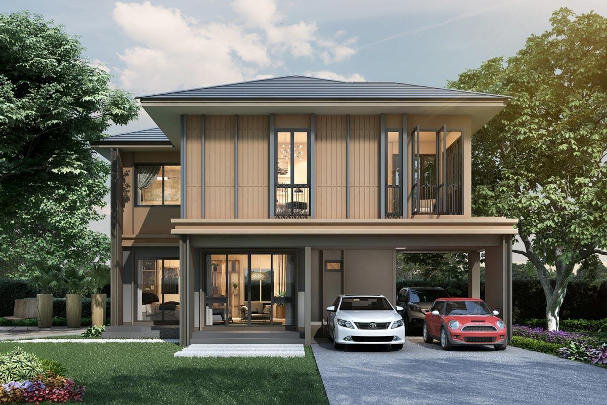 5 อันดับแบบบ้านสวย ๆ จากโครงการบ้านต่าง ๆ ดีไซน์สวย ฟังก์ชันครบครัน