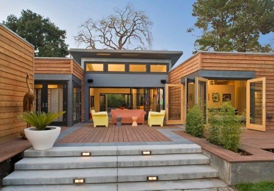 ออกแบบบ้านหลังคา Skillion Roof โมเดิร์นไม่ซ้ำใคร